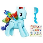 My Little Pony-Rainbow Dash saute et vole