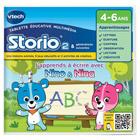 Jeu Storio 2-J'apprends à écrire avec Nino & Nina