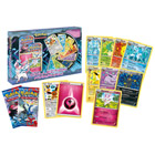 Pokémon coffret 2 boosters + 9 cartes brillantes