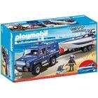 5187 - Playmobil City Action - Fourgon et vedette de police