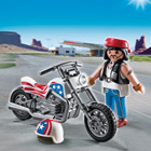 5280-Pilote avec moto Playmobil