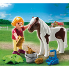 5291-Enfant avec poney Playmobil