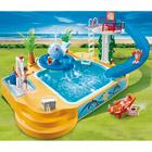 5433-Famille avec piscine et plongeoir