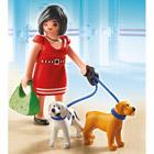 5490-Femme avec chiots Playmobil