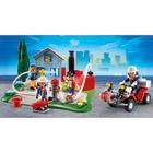 5169-Coffret Anniversaire Brigade de pompiers avec quad