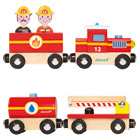 Coffret story train pompiers