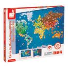 Carte du Monde magnétique Animaux 201 pièces