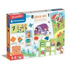 Kit de 8 jeux éducatifs