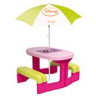 Table de pic-nic Minnie + parasol Minnie