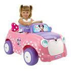 Voiture Minnie 6 Volts