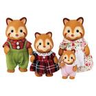 Famille Panda rouge Sylvanian