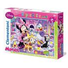 Puzzle 24 pièces Minnie Daisy et ses amis
