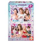 Puzzles 2 x 100 pièces Violetta