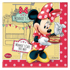 20 Serviettes Minnie