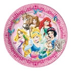8 Assiettes 23 cm Princesses Disney Animal's