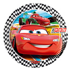 8 Assiettes 23 cm Cars Racing Sports Network
