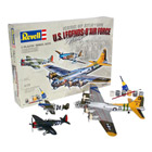 Coffret de 3 Maquettes avions militaires flying legends