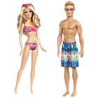 Barbie et Ken Plage