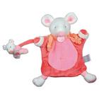Doudou marionnette souris