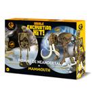 Kit d'excavation Homme de Neandertal et Mammouth