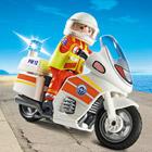 5544-Sauveteur avec Moto