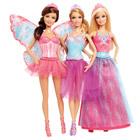 Barbie Coffret 3 Poupées Féeriques