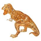 Crystal puzzle T-rex brun