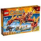 70146-Lego Chima Temple du Phoenix de Feu