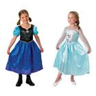 Coffret Déguisements Classiques Anna & Elsa Taille M