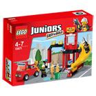 10671-Lego Juniors Caserne des Pompiers