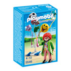 5546-Clown avec ballons