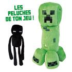 Minecraft Peluche Créature Assortiment