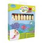8 Crayons Jumbo