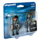 5515-Duo Policiers des forces spéciales