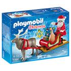 5590-Père Noël avec traîneau - Playmobil Christmas
