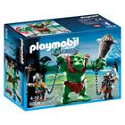 6004-Soldats nains avec troll - Playmobil Knights