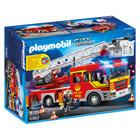 5362-Camion de pompier avec échelle pivotante et sirène