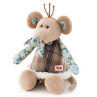 Peluche Folky Friends Souris 25 cm