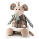 Peluche Folky Friends Souris 32 cm