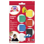 Kit 6 couleurs Fimo kids mixte