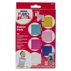 Kit 6 couleurs Fimo kids