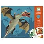 Dragon géant en papier