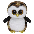 Beanie Boo's-Peluche Owliver La Chouette 23 cm