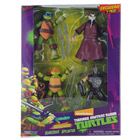 Tortues Ninja Coffret 4 figurines 12 cm