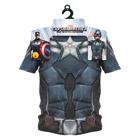 Plastron Captain America