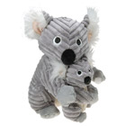 Peluche Wala Le Koala et bébé 25 cm