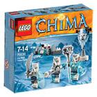 70230-Lego Chima La Tribu Ours des glaces