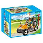 6636-Soigneur animalier avec véhicule - Playmobil City Life