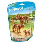 6645-Couple de tigres avec bébés - Playmobil City Life