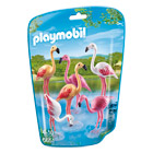 6651-Groupe de flamants roses  - Playmobil City Life